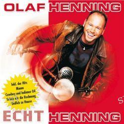 Echt Henning von Olaf Henning - Music-CD