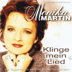 Klinge Mein Lied von Monika Martin - Music-CD