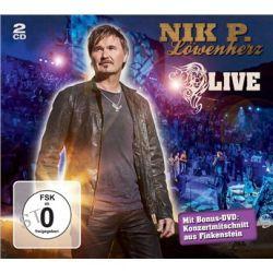 Löwenherz - Live - (2CD +1DVD) von Nik P. - Music-CD