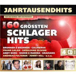 Various - Sampler (4CD) von Jahrtausendhits - Die 60 Größten Schlagerhits - Music-CD