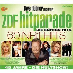 Various - Uwe Hübner Präsentiert Sampler (3CD) von 60 Nr. 1 Hits - ZDF Hitparade - Music-CD