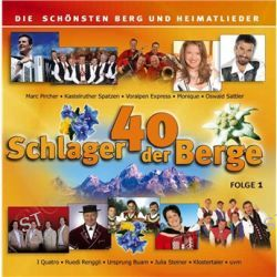Various - (2CD) von Schlager Der Berge - Music-CD