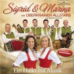 Ein Hallo Mit Musik von Sigrid & Marina - Music-CD
