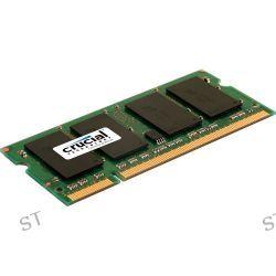 Crucial 2GB 200-Pin SODIMM DDR2 PC2-6400 Memory CT2G2S800M B&H