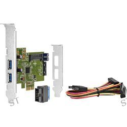 HP 4-Port USB 3.0 SuperSpeed PCIe 1x Card QT587AA B&H Photo