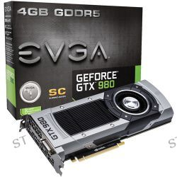 EVGA NVIDIA GeForce GTX 980 Superclocked Graphics 04G-P4-2982-KR