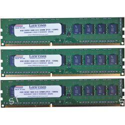 Lifetime Memory 12GB (3 x 4GB) PC3-12800 ECC DIMM 10308-12ECCKIT