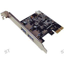 Sabrent USB 3.0 2-Port Desktop PCI Express Card PCIX-USB3 B&H