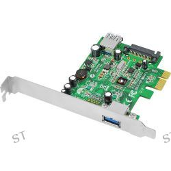 SIIG Dual Profile 2-Port USB 3.0 PCIe i/e Adapter JU-P20712-S1