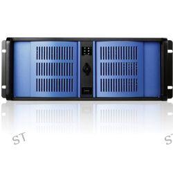 iStarUSA D Storm Series D-400-BLUE 4U Compact Stylish D-400-BLUE