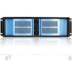 iStarUSA D-300-BLUE 3U Compact Stylish Rackmount D-300-BLUE B&H