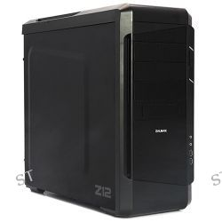ZALMAN USA  Z12 Mid Tower PC Case (Black) Z12 B&H Photo Video