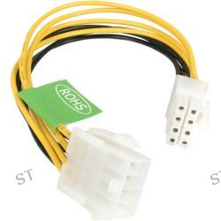 "StarTech EPS 8 Pin Power Extension Cable (8"") EPS8EXT B&H"