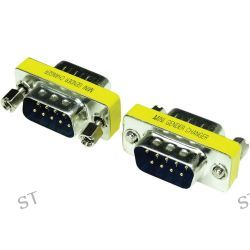 Tera Grand DB 9-Pin Male to Male Mini Gender Changer MGC-DB9MM