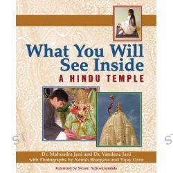 What You Will See Inside a Hindu Temple, What You Will See Inside-- by Mahendra Jani, 9781594731167.