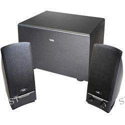 Cyber Acoustics CA-3001 3-Piece Subwoofer and CA-3001RB B&H