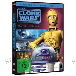 Filme: Star Wars - The Clone Wars - Staffel 4.1  von Dave Filoni,Rob Coleman,Justin Ridge,Brian Oconnell,Steward Lee
