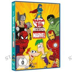 Filme: Phineas und Ferb - Vol. 6 - Mission Marvel  von Robert Hughes,Sue Perrotto