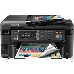 Epson WorkForce WF-3620 Wireless Color All-in-One C11CD19201 B&H
