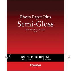 """Canon SG-201 Photo Paper Plus Semi-Gloss 8 x 10"""" 1686B062"""