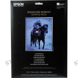Epson  Signature Worthy Sample Pack S045234 B&H Photo Video