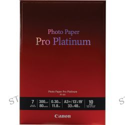"Canon Pro Platinum Photo Paper 13 x 19"" (10 Sheets)"