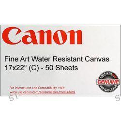 "Canon Fine Art Water Resistant Canvas - 17x22"" - 0849V399"