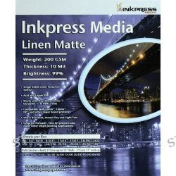 Inkpress Media  Linen Matte Paper LME851150 B&H Photo Video