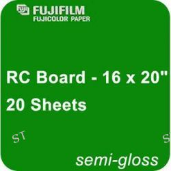 "Fujifilm Semi Gloss RC Board - 16 x 20"" - 20 600007244 B&H"