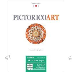 "Pictorico ART Cotton Paper (8.5 x 11"", 10 Sheets) PICT35034"
