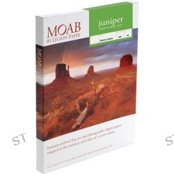 Moab  Juniper Baryta Rag 305 Paper F01-JBR305A425 B&H Photo Video
