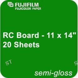 "Fujifilm Semi Gloss RC Board - 11 x 14"" - 20 600007165 B&H"