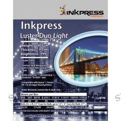 Inkpress Media  Luster Duo 280 Paper LD85115 B&H Photo Video