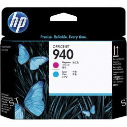 HP 940 Magenta & Cyan Officejet Printhead C4901A B&H Photo