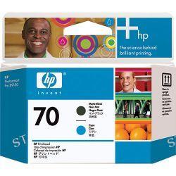 HP  HP 70 Matte Black & Cyan Printhead C9404A B&H Photo Video
