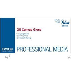 Epson GS Canvas Gloss Paper for Solvent Ink Printers S045105 B&H