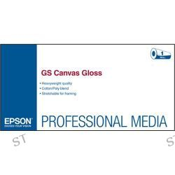 Epson GS Canvas Gloss Paper for Solvent Ink Printers S045106 B&H