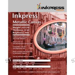 Inkpress Media Metallic Canvas Inkjet Paper ACM4435TO B&H Photo