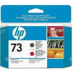 HP 73 Matte Black & Chromatic Red Printhead CD949A B&H Photo