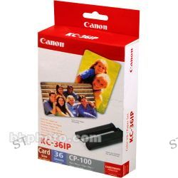 Canon  KC-36IP Color Ink & Paper Set 7739A001 B&H Photo Video
