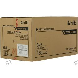 "HiTi 6x8"" Ribbon and Paper Case for P510 87.PBL02.10XV B&H"