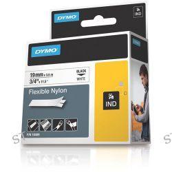 "Dymo Rhino 3/4"" White Flexible Nylon Tape 18489 B&H Photo"