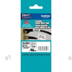 Brother  TZeFX251 Flexible ID Tape TZE-FX251 B&H Photo Video