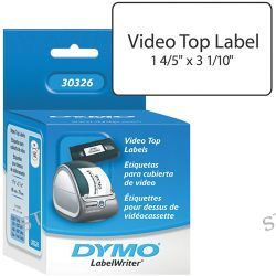 Dymo  LabelWriter VHS Video Top Labels 30326 B&H Photo Video