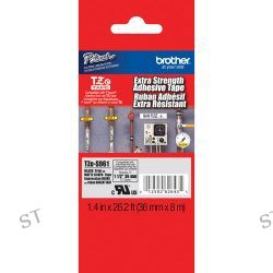 Brother TZeS961 Tape with Extra-Strength Adhesive TZE-S961 B&H