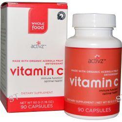 Activz, Vitamin C, 90 Capsule