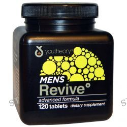 Youtheory, Mens Revive Advanced Formula, 120 Tablets