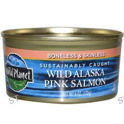 Wild Planet, Wild Alaska Pink Salmon, 6 oz (170 g)