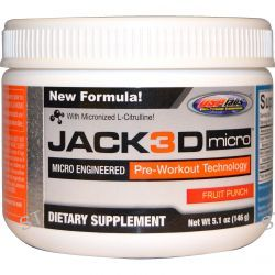 USP Labs, Jack 3D Micro, Fruit Punch, 5.1 oz (146 g)
