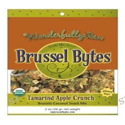 Wonderfully Raw Gourmet Delights, Brussel Bytes, Tamarind Apple Crunch, 2 oz (56 g)